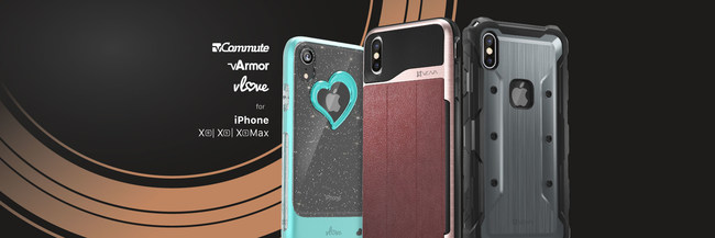 Vena is pleased to expand its popular lines of phone cases, the vCommute, vArmor and vLove to include the new iPhones.