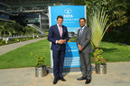 Left to Right: Pieter Elbers, CEO of KLM visits TCS' flagship Siruseri campus marking the 25th anniversary of its business partnership with TCS, accompanied by Rajesh Gopinathan, CEO & MD, TCS (PRNewsfoto/Tata Consultancy Services Ltd)