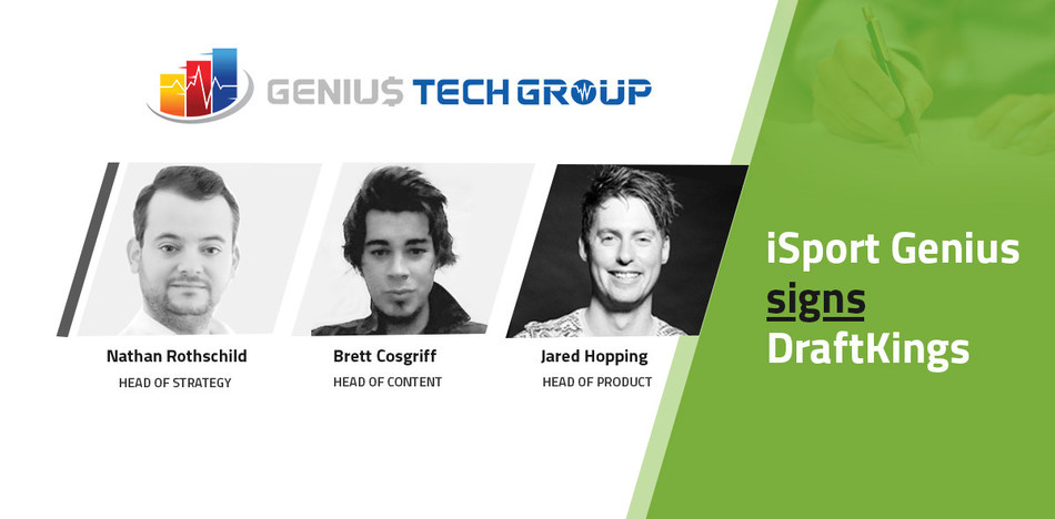 Sports data platform provider iSport Genius has signed a deal with DraftKings that will help support the global sports technology and entertainment company deploy data insights across their DraftKings Sportsbook platform.