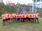 Marathon runners participate on WMDD to support DATRI (PRNewsfoto/DATRI Blood Stem Cell Donors Reg)