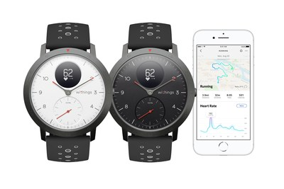 Withings Steel HR Sport and Health Mate app