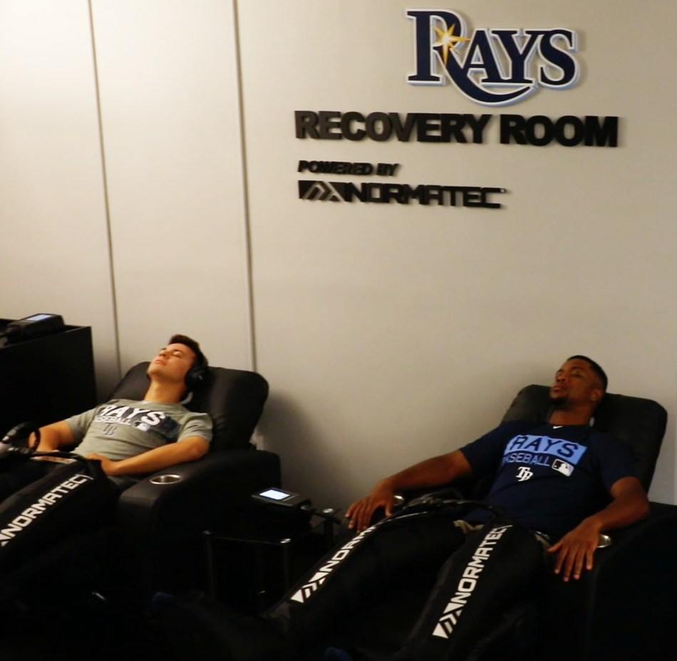 Tampa Bay Rays Recovery Room Powered by NormaTec