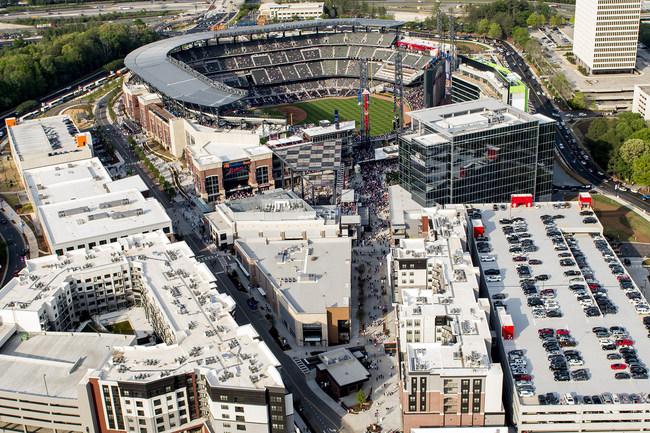 Atlanta Braves' SunTrust Park and The Battery Atlanta
