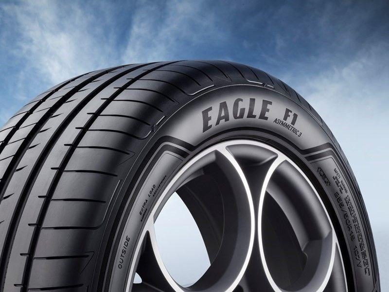 Eagle F1 Asymmetric 3 SUV - Beauty shots (PRNewsfoto/Goodyear)