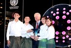 President Bill Clinton Awards USD1M Hult Prize at United Nations Headquarters to Four College Students from the UK for Innovative Rice Farming Startup & Issues 10th Anniversary Youth Challenge