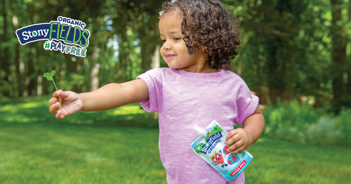 Stonyfield Organic Announces First Ten Communities Selected for StonyFIELDS #PlayFree Initiative