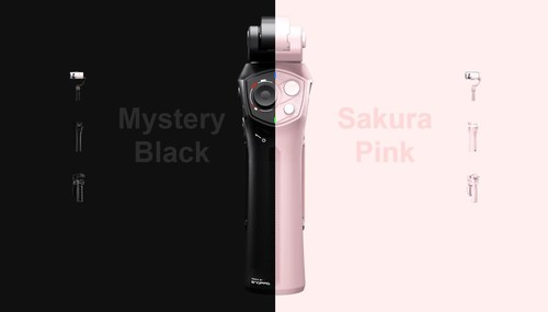Snoppa ATOM will be offered in Mystery Black and Sakura Pink