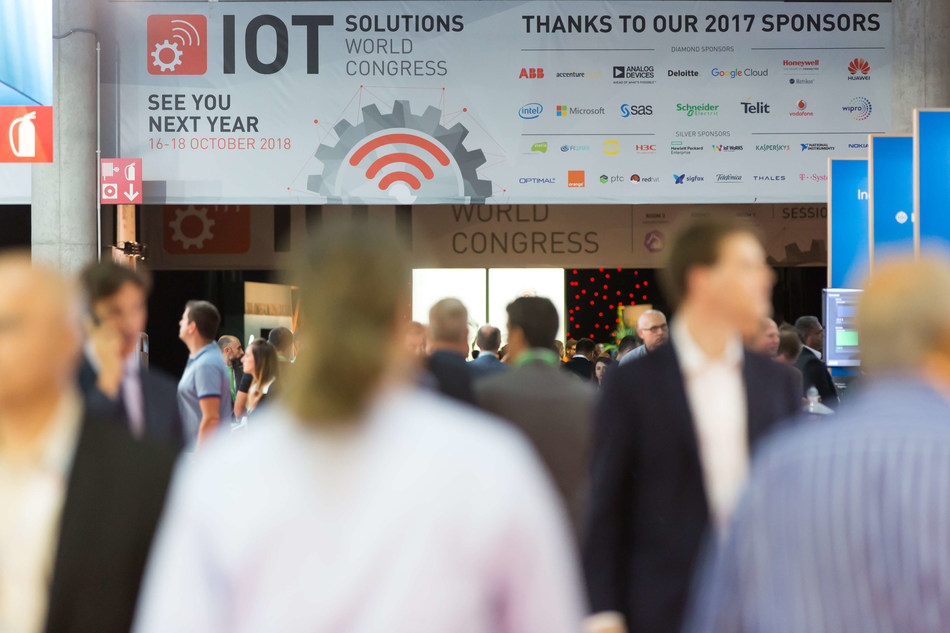 IoT Solutions World Congress 2018 to Showcase the Convergence of the IoT, Artificial Intelligence and Blockchain (PRNewsfoto/Fira de Barcelona)
