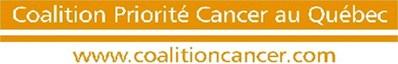 Logo: Coalition Priorité Cancer au Québec (CNW Group/HPV Awareness)