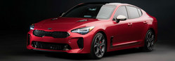 The 2018 Kia Stinger is now available at Serra Trussville Kia. (PRNewsfoto/Serra Trussville Kia)