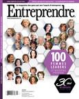Couverture du magazine Entreprendre - 100 femmes leaders (Groupe CNW/Magazine Entreprendre)