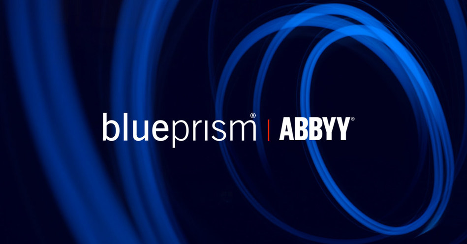 Blue Prism and ABBYY partnership integrates intelligent Optical Character Recognition (OCR) capabilities with enterprise-grade Robotic Process Automation (RPA).