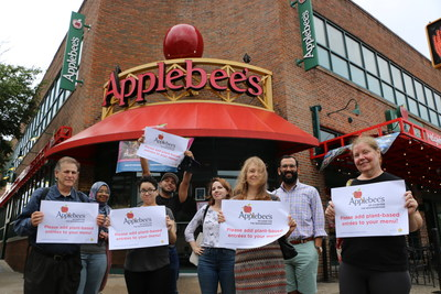 National Day Of Action Asks Applebee's To Add Plant-Based Menu Options To Combat Climate Change And Extinction