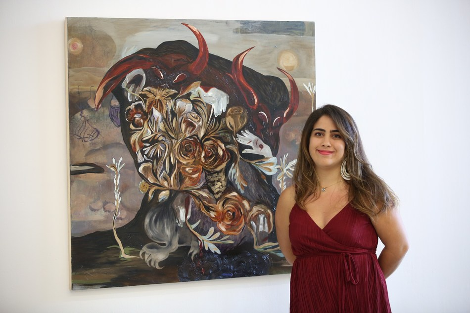 Ontario's Amanda Boulos wins first place at the 2018 RBC Canadian Painting Competition (CNW Group/RBC)