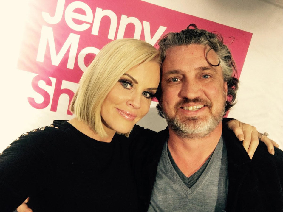 Jenny McCarthy and Del Bigtree.