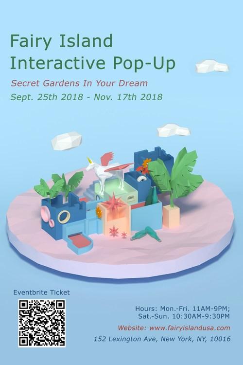 Fairy Island - New Interactive Pop up Exhibit in NYC