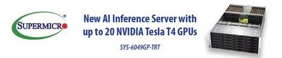 Servidor GPU de alta densidade da Supermicro otimizado para inferência de IA