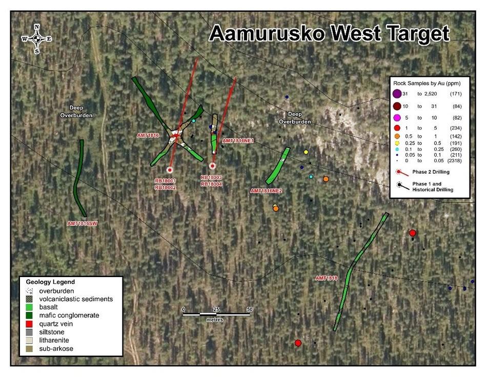 Aamurusko West Target (CNW Group/Aurion Resources Ltd.)