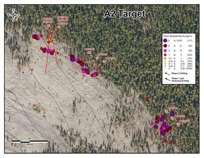 A2 Target (CNW Group/Aurion Resources Ltd.)