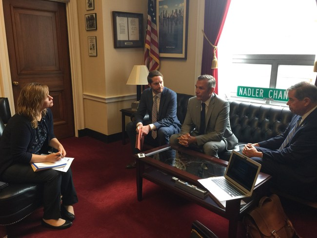 Iconic Artists meeting with Congressman Nadler's Office