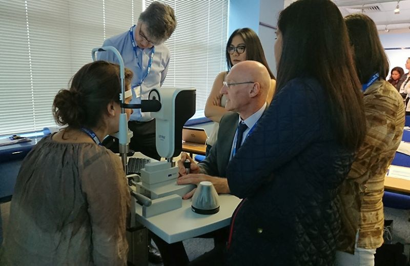 Improving Outcomes Biometry Course (PRNewsfoto/Haag-Streit UK)