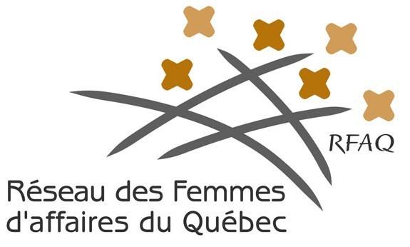 Logo : Réseau des Femmes d'affaires du Québec (RFAQ) (Groupe CNW/Réseau des Femmes d'affaires du Québec Inc.)