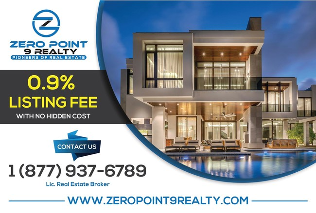 Orlando, Florida's Zero Point 9% Realty Launches Offering Nation's 1st Real Estate Sales With Only a 0.9% Listing Fee