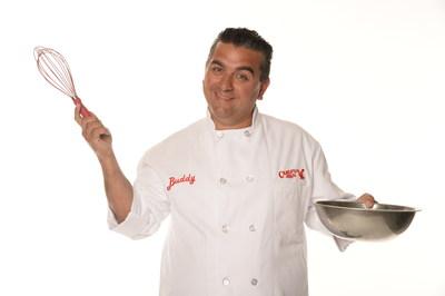El jefe de los pasteles Buddy Valastro y su famiglia han creado una Carlo's Bakery en McAllen, Texas.