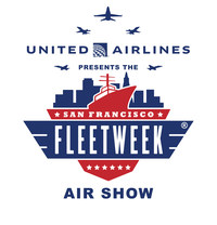 Official Logo: United Airlines Presents The San Francisco Fleet Week Air Show