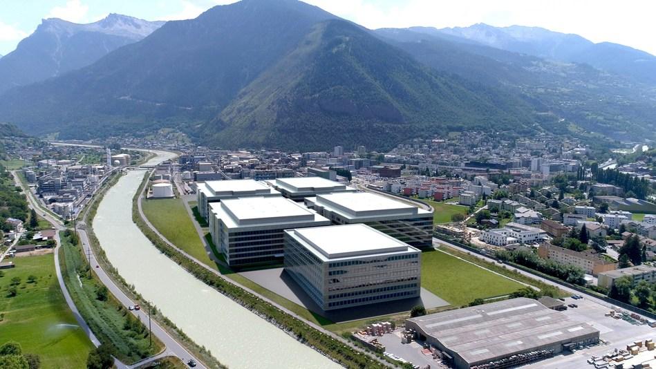 Lonza Pharma & Biotech's biopark at Visp (Switzerland), where Ibex™ Solutions are based