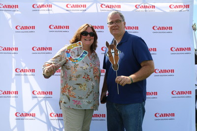 The Canon Solutions America Photo Booth