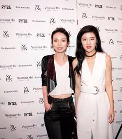 Designer Vivienne Hu & Rytzie's founder Sherry Li