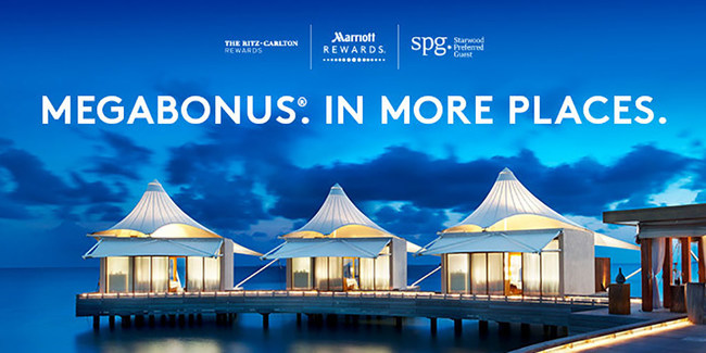 Marriott International celebrates its recently unified loyalty programs with a new points promotion that will allow members to earn bonus points across 6,700 hotels at all 29 participating brands for the very first time. (PRNewsfoto/Marriott International, Inc.)