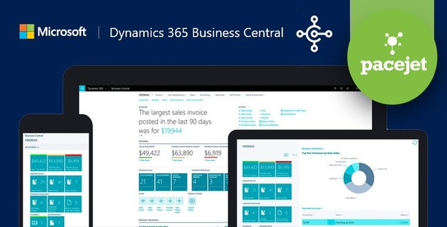 Pacejet Shipping for Microsoft Dynamics 365 Business Central
