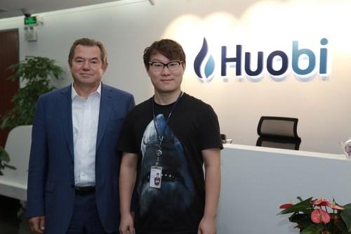 Huobi Founder Leon Li Meets With Vladamir Putin Advisor Sergey Glazyev