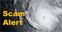Beware Of Hurricane Scammers