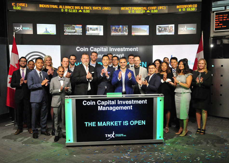 Coin Capital Investment Management Inc. Open the Market (CNW Group/TMX Group Limited)