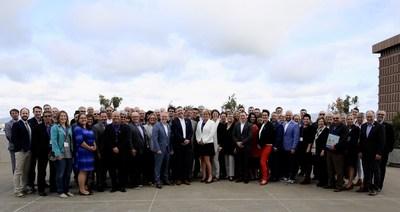 Les membres de l'Alliance de l'industrie touristique du Québec lors de l'assemblée générale 2018 (Groupe CNW/Alliance de l'industrie touristique du Québec)