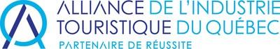 Logo : Alliance de l'industrie touristique du Québec (Groupe CNW/Alliance de l'industrie touristique du Québec)