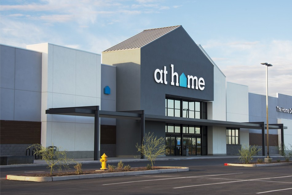 At Home opens its newest store in Elmhurst, Illinois.