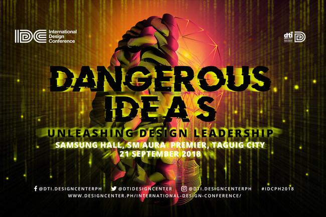Dangerous Ideas: Unleashing Design Leadership | International Design Conference 2018