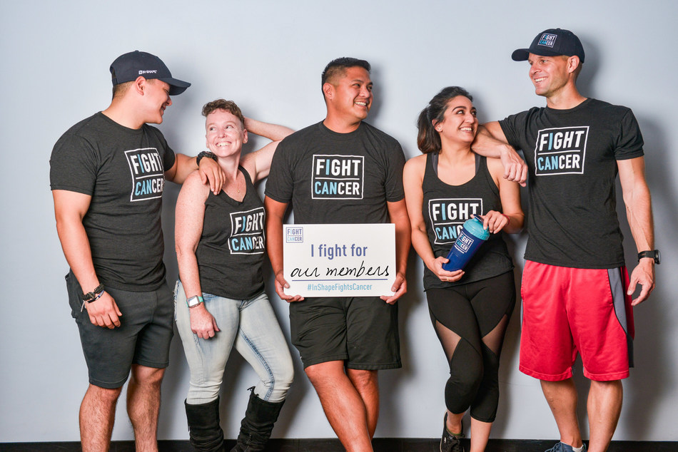 In-Shape Health Clubs set a goal to raise $150,000 for cancer research in the month of October for its 4th annual Fight Cancer campaign. Who will you fight for? Learn more at www.inshape.com/fightcancer