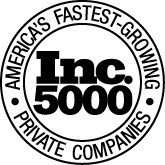 Inc. 5000 Award logo - fastest-growing private companies