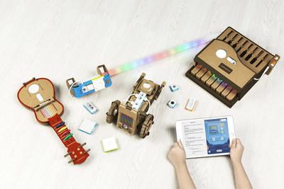 Kit Neuron Explorer da Makeblock e Swift Playgrounds da Apple (PRNewsfoto/Makeblock Co., Ltd.)