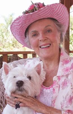 Dr. Patricia Bragg and Jasper
