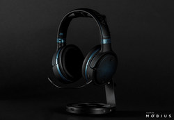 Audeze Mobius 3D Headphones with Waves Nx® (PRNewsfoto/Audeze Mobius)