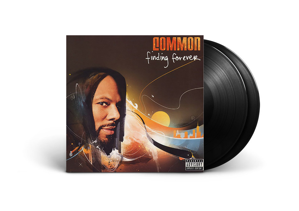 """Today, Urban Legends releases Common's seventh studio album, 2007's 'Finding Forever,' in black 2LP vinyl and limited edition white 2LP vinyl packages. Both versions feature the bonus track """"Play Your Cards Right (featuring Bilal)"""" on vinyl for the first time."""