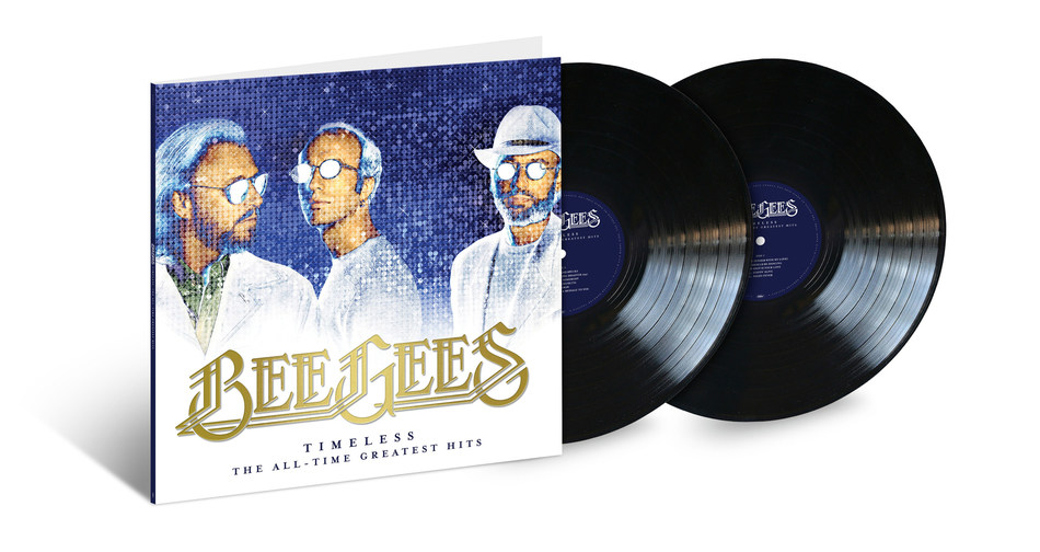 On October 26, Capitol/UMe will release the Bee Gees' 'Timeless: The All-Time Greatest Hits' in a 2LP vinyl edition. Already available on CD and digitally, the career-spanning collection of top hits by one of music's most legendary and acclaimed groups features 21 tracks personally selected by Bee Gees co-founder Barry Gibb.