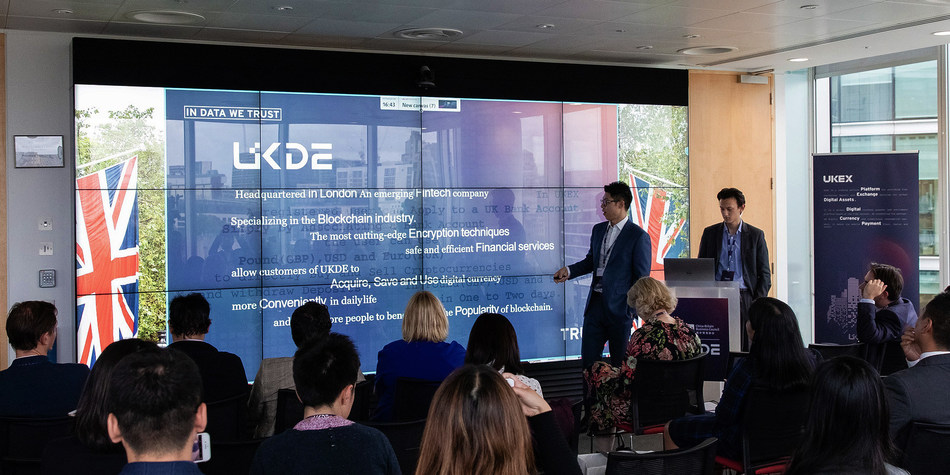 UKDE CEO's address in brand conference
