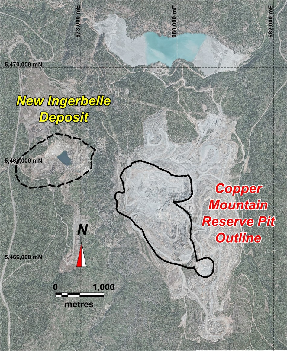 APPENDIX A: NEW INGERBELLE LOCATION (CNW Group/Copper Mountain Mining Corporation)